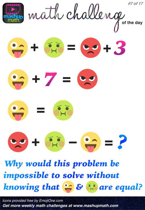 Are You Ready for 17 Awesome New Math Challenges?   Mathe
