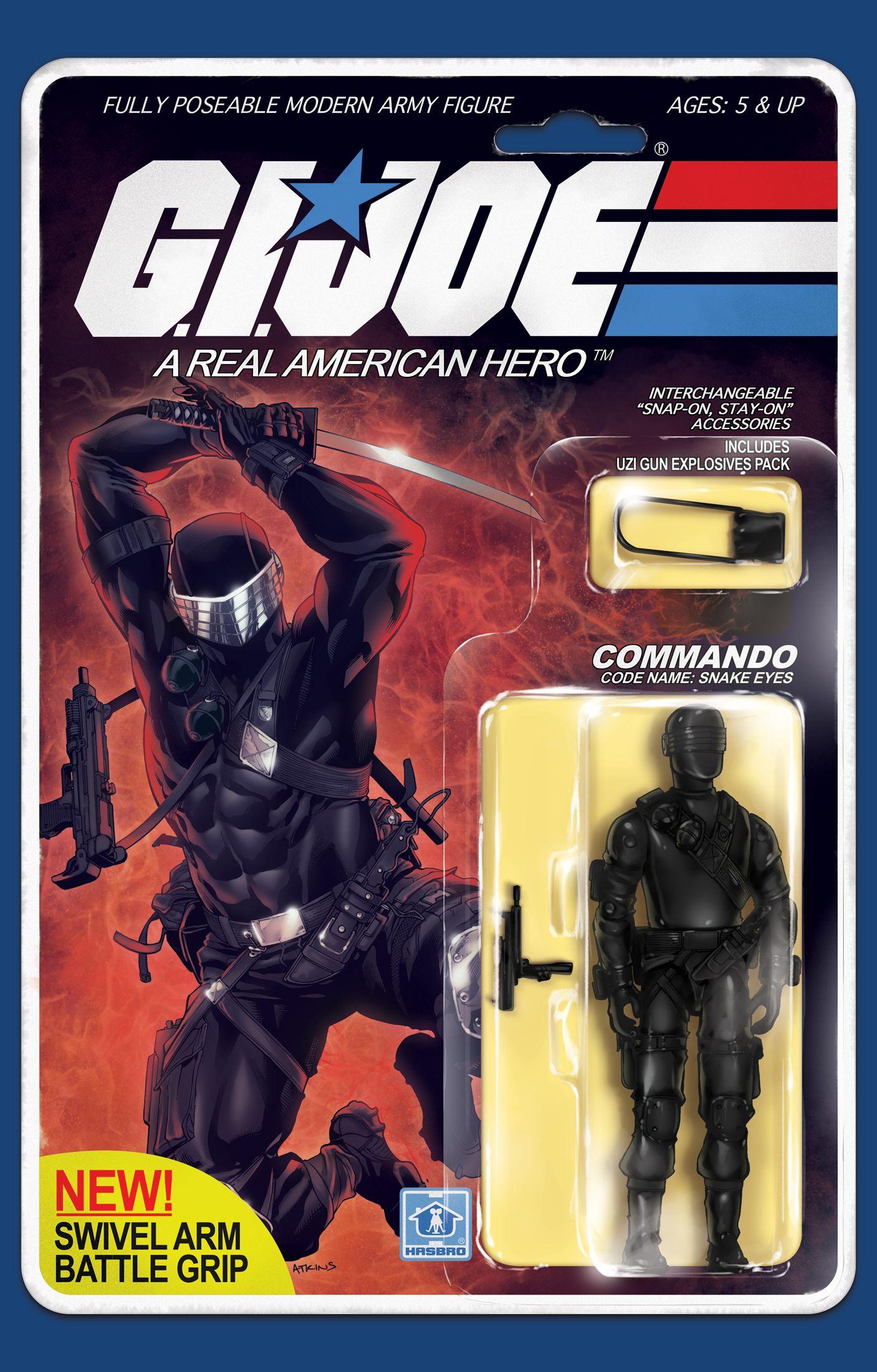 Gi Joe Real American Hero Toys