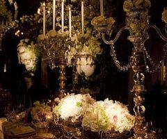 Low light and classic; the perfect wedding.