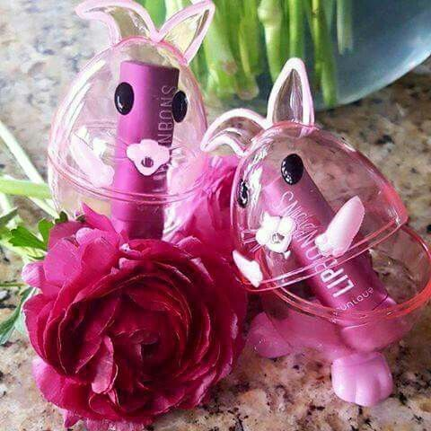Cute easter basket giftsp bonbons tinted lip balm ask me hope everyone has a lovely easter monday negle Images