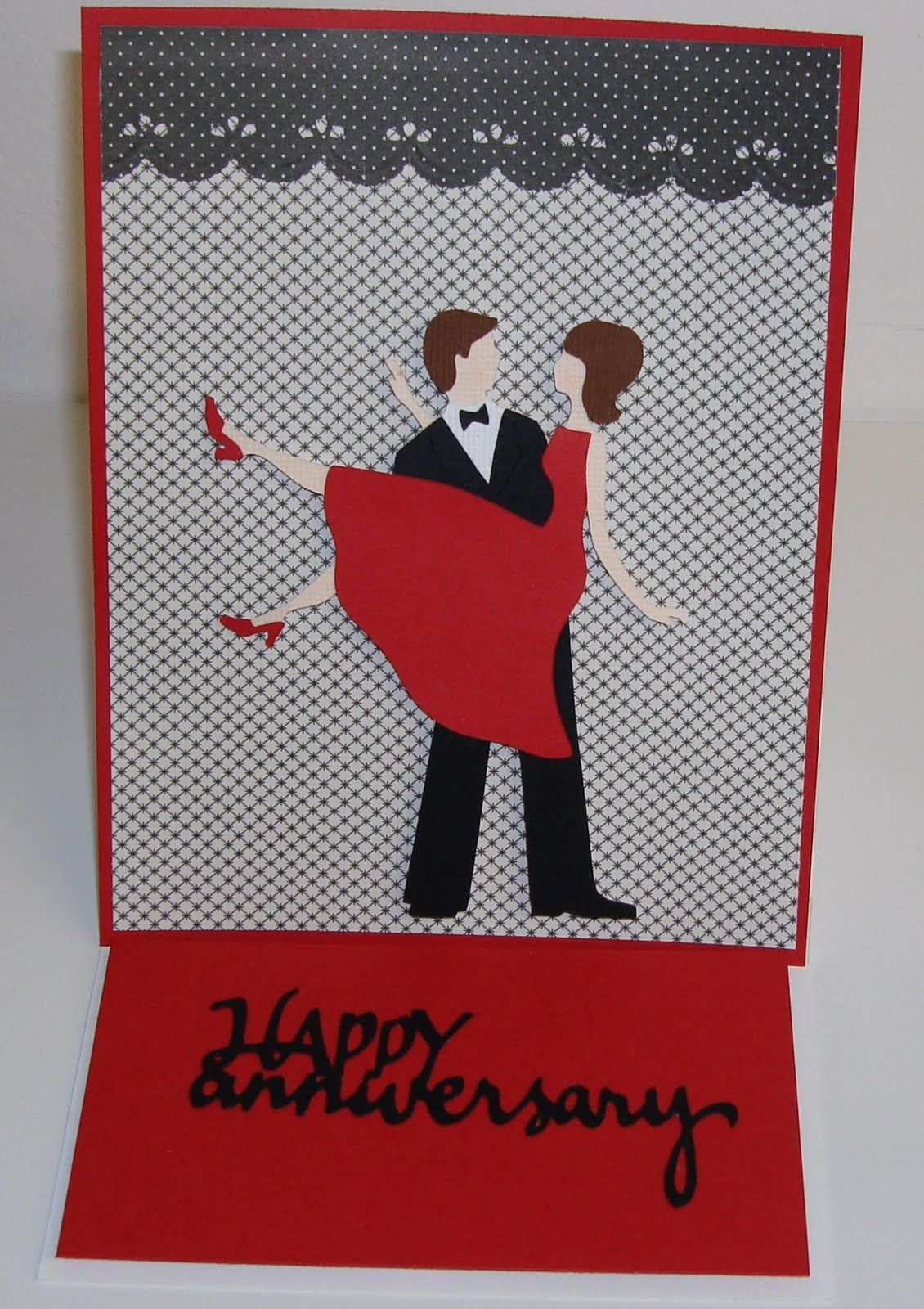 Cricut sweethearts homemade anniversary cards cricut