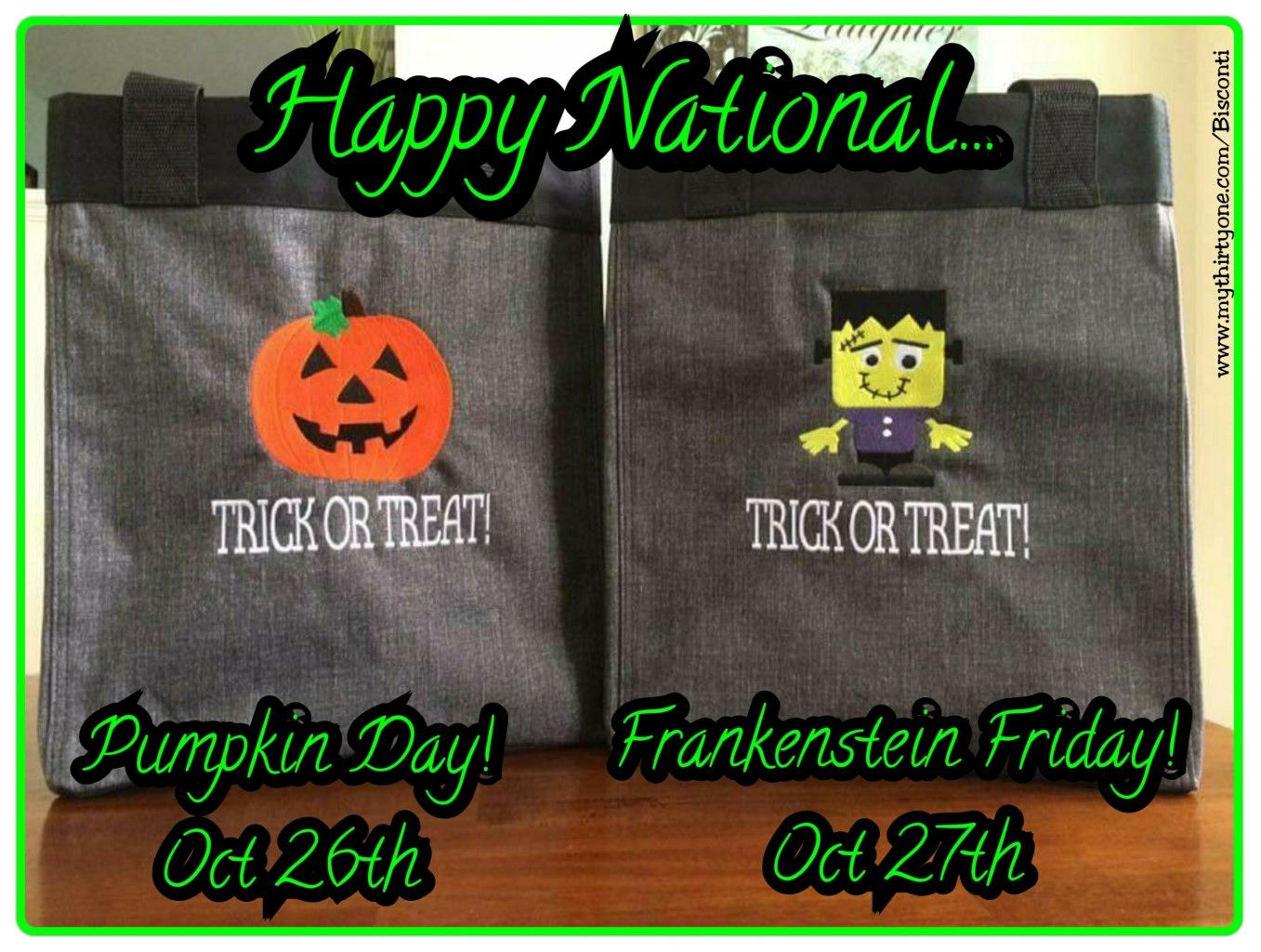 Happy National Pumpkin Day Happy National Frankenstein Friday Thirty One Pumpkin Icon It Thirty One Frankenstein Icon It P Thirty One Thirty One Gifts Day