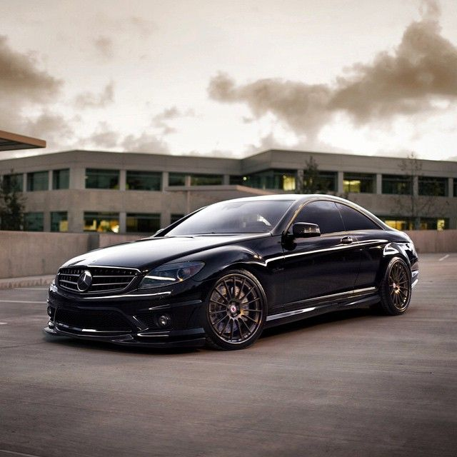 2009 Mercedes Benz Cl Class Exterior: Mercedes-Benz CL 63 AMG (Instagram @hre_wheels)
