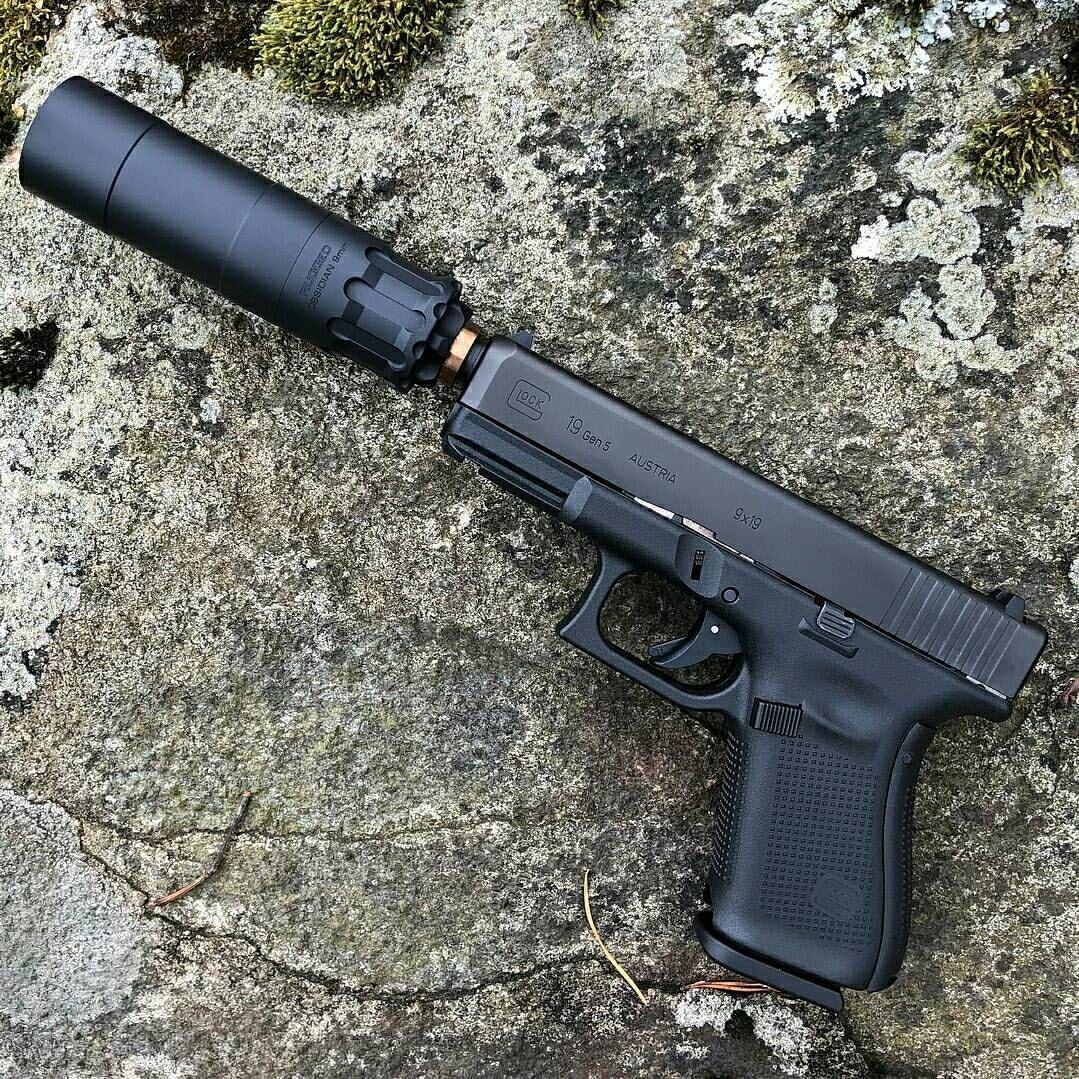 Regrann from @hansohn_brothers - The Rugged Obsidian 9(k) on Glock