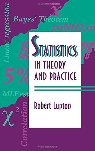 Statistics In Theory And Practice By Robert Lupton Theories Ebook Practice