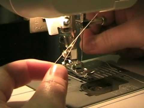 Loading Amp Threading The Bobbin On A Brother Xl 2600i Sewing Machine Saving This For Later
