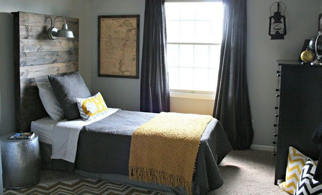 Roses and Rust Time to Man Up - Creating a Masculine Bedroom