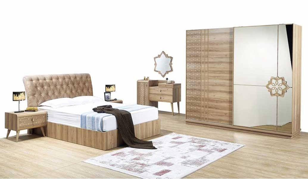 tezel lotus yatak odasi takimi bej oturma odalari yatak tasarimlari mobilya fikirleri
