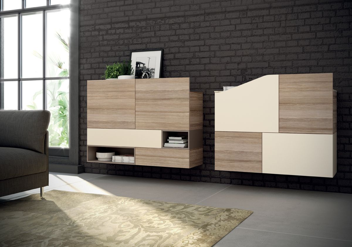 Wall Mounted Living Room Cabinets Two Wall Mounted Living Room Cabinets Distinguish This Innovative