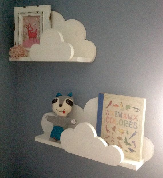 cloud shelf by northerncarpentry on etsy boy nursery pinterest babyzimmer kinderzimmer. Black Bedroom Furniture Sets. Home Design Ideas