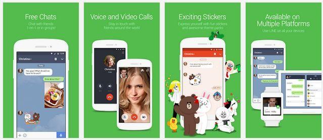 LINE 5.1.3 APK für Android Kostenloser Chat App Download