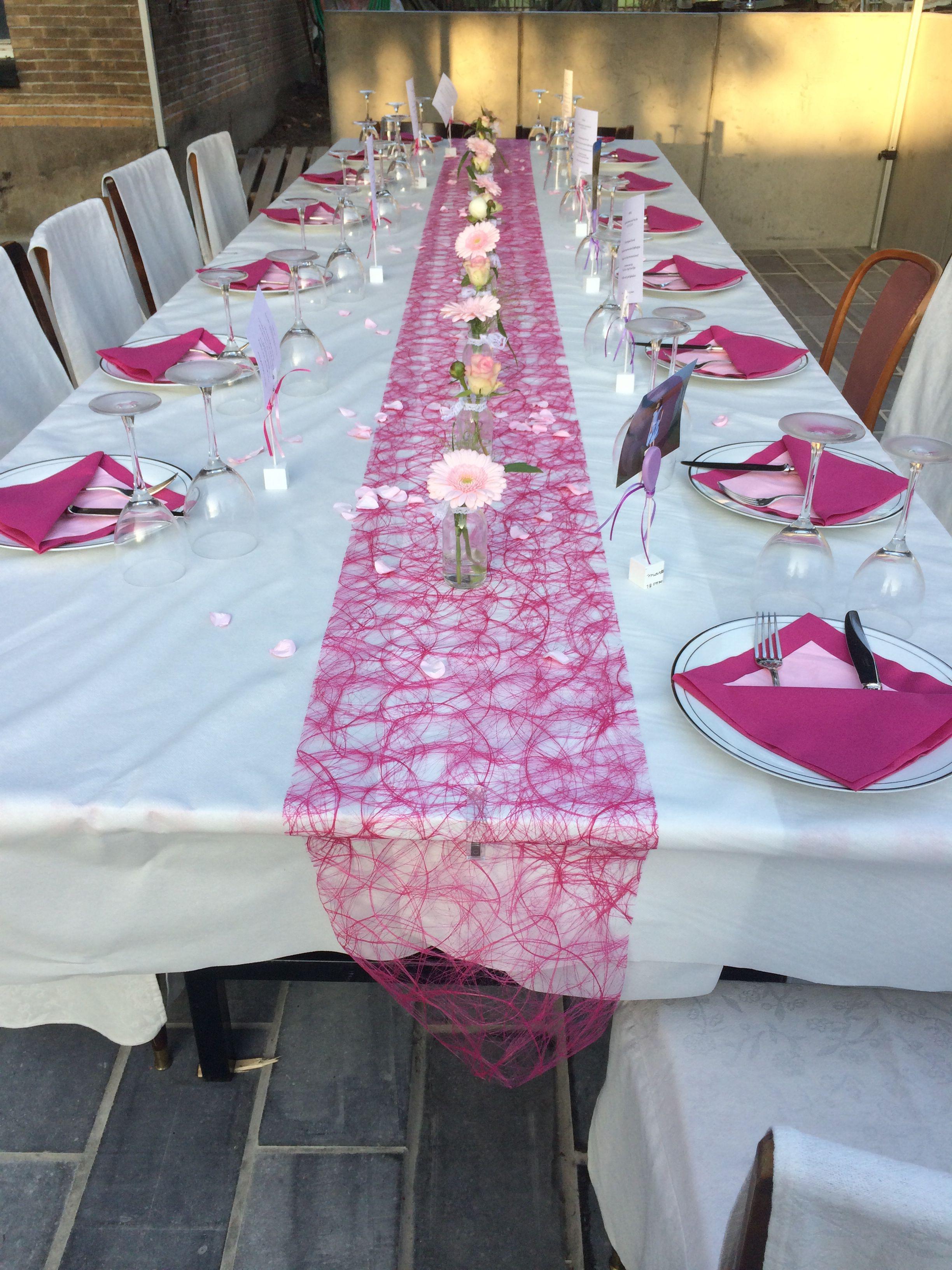 Communie tafel communiefeest lars pinterest roze eerste communie en tafelversiering - Versier een kleine woonkamer ...