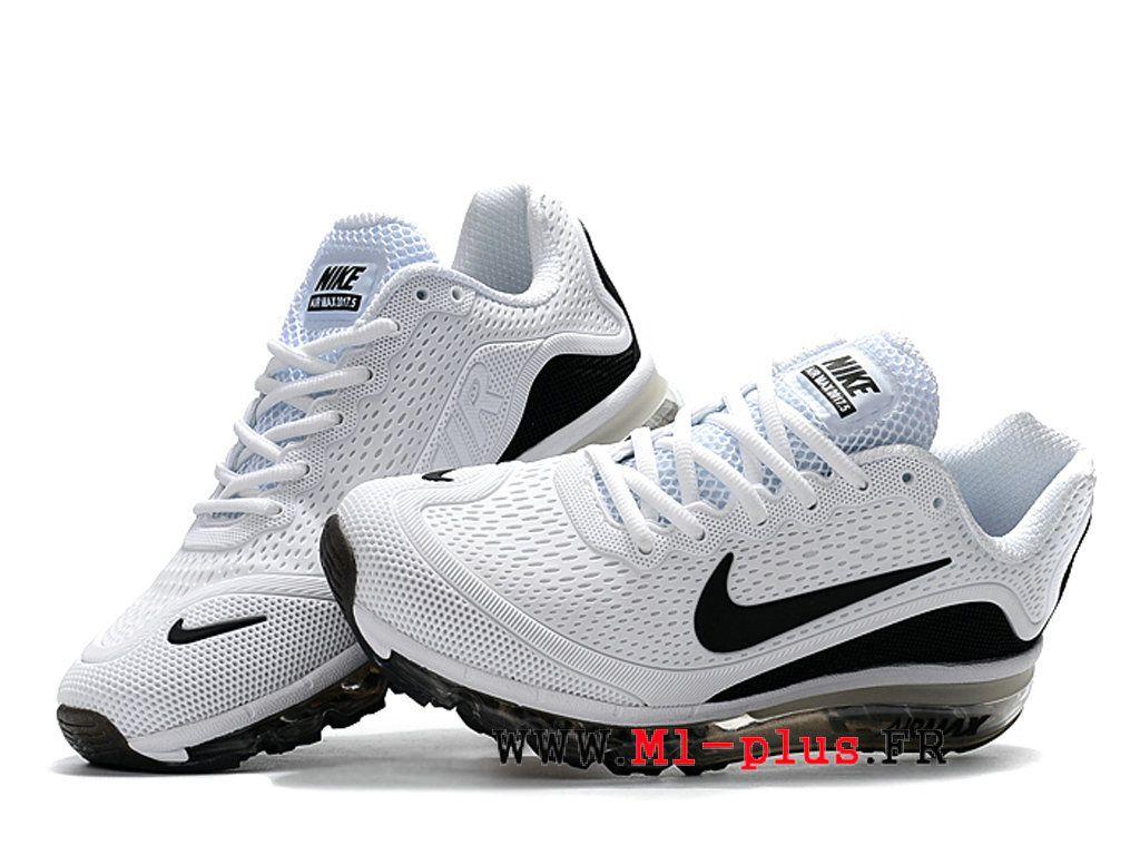 Chaussures Nike Air Max 2017.5 Boutique Plastique Baisse KUP de Pour Homme  Noir blanc