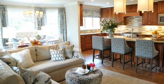 How To Open Concept Kitchen And Living Room Decor Open Concept