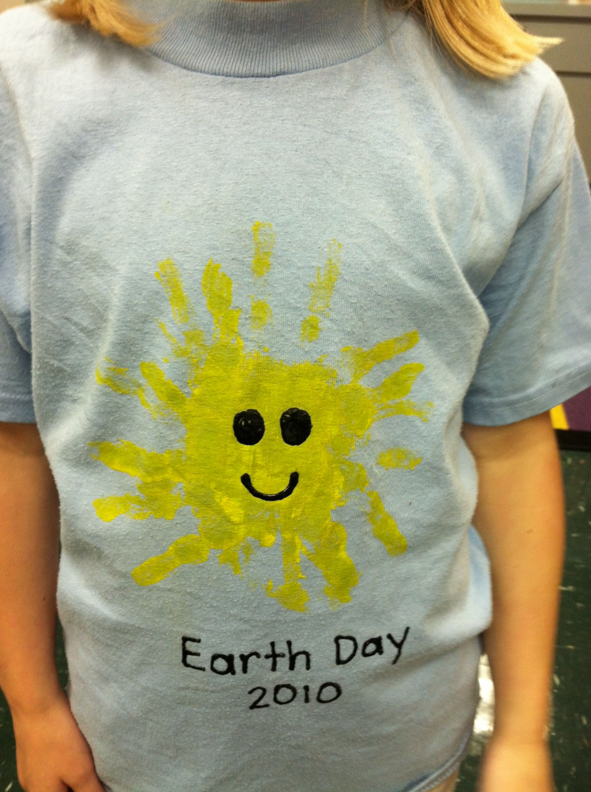 Front Of Earth Day Shirt Creative Fun Kids Shirts T Shirts For