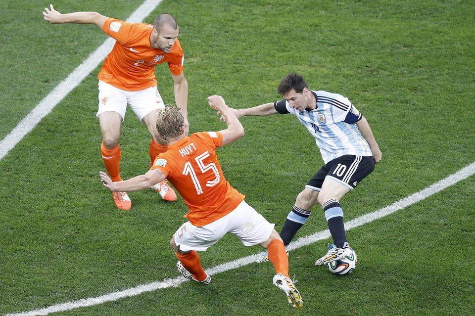 Las mejores imágenes del Holanda-Argentina