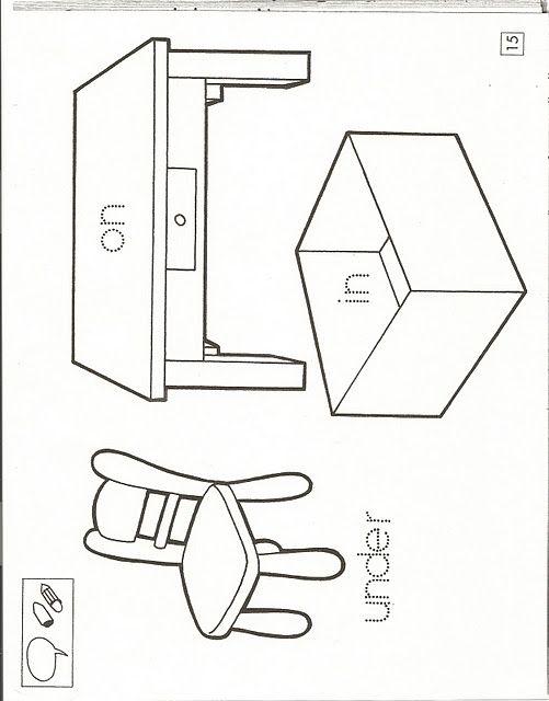 Apoyo escolar ing maschwitz fichas de actividades en for 10 objetos en ingles del salon de clases