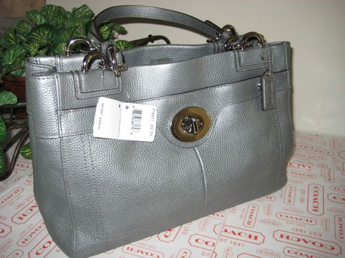 The newest addition to my handbag collection, but I have gray not silver :-)