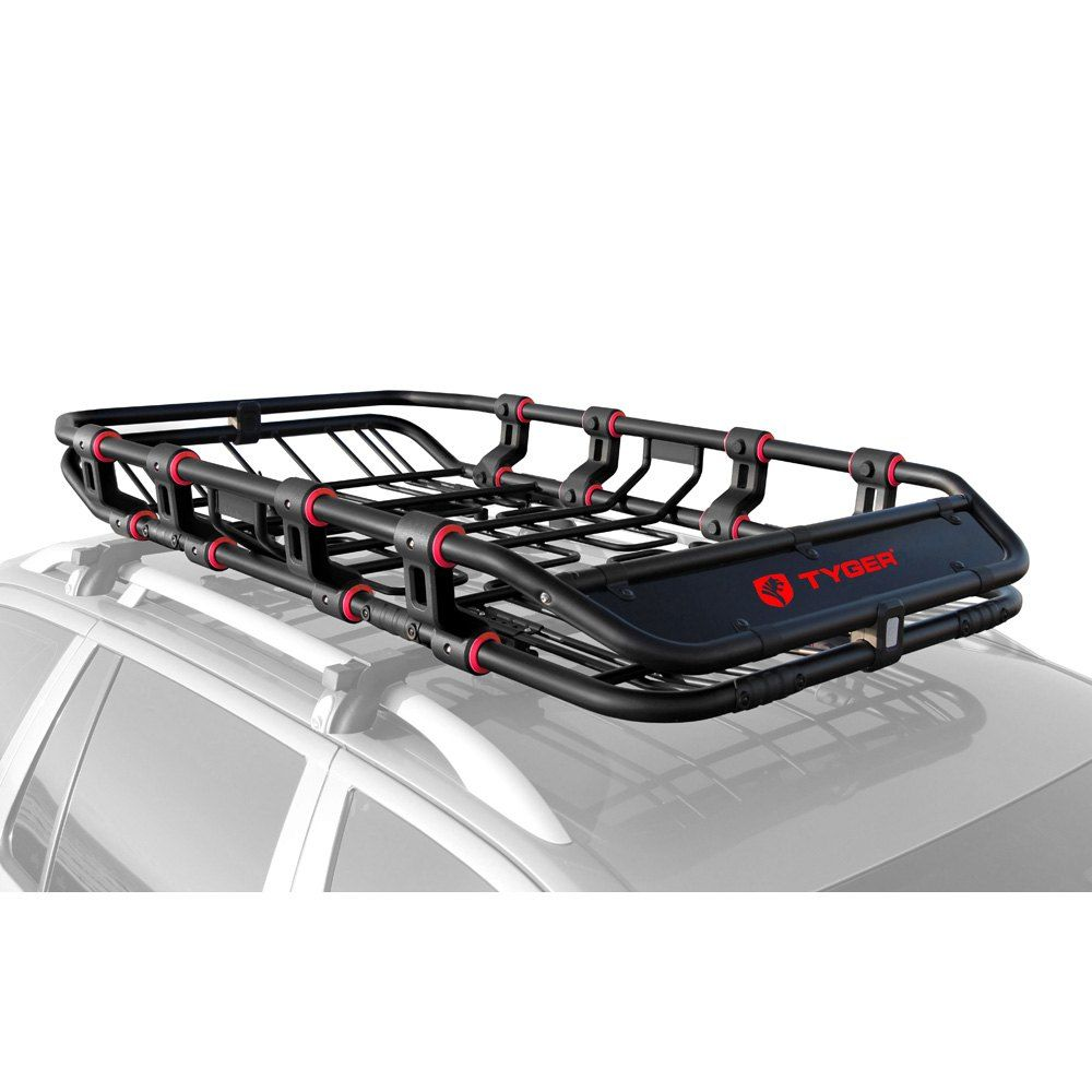 Tyger Tg Rk1b906b Super Duty Roof Cargo Basket 67 6 L X 41 4 W X 8 42 H Jeep Cherokee Roof Rack Roof Rack Luggage Carrier