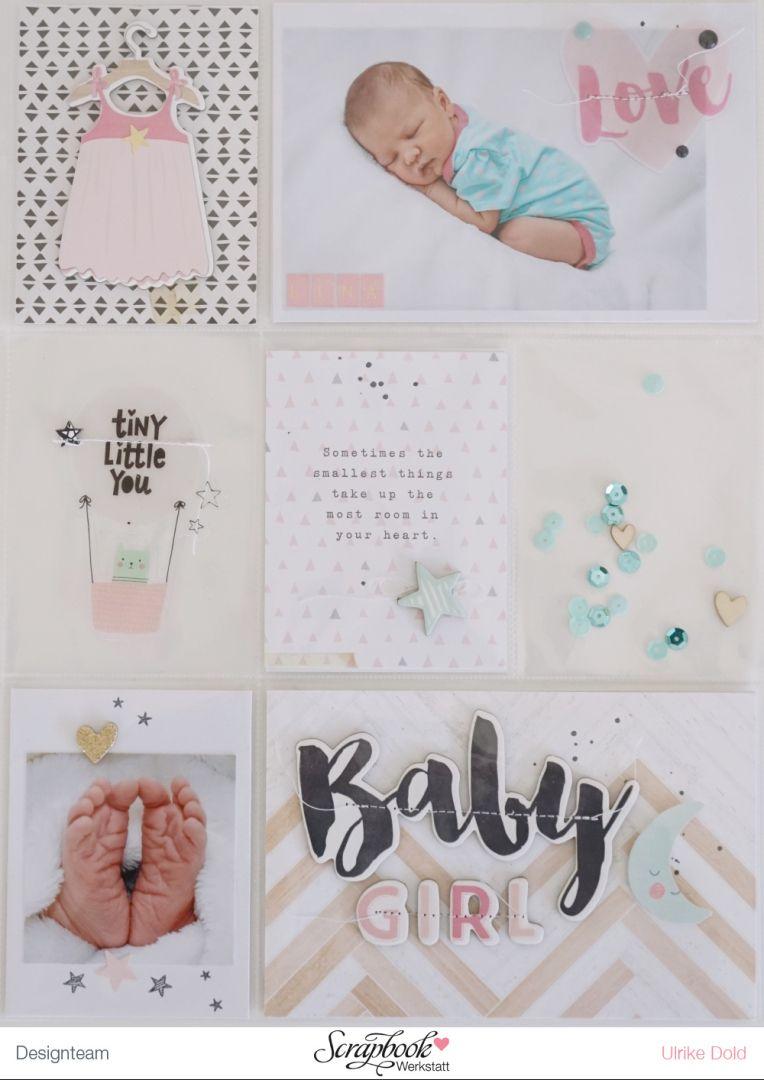 Titelseite Best Of Baby Album Lina Crate Paper Little You Von