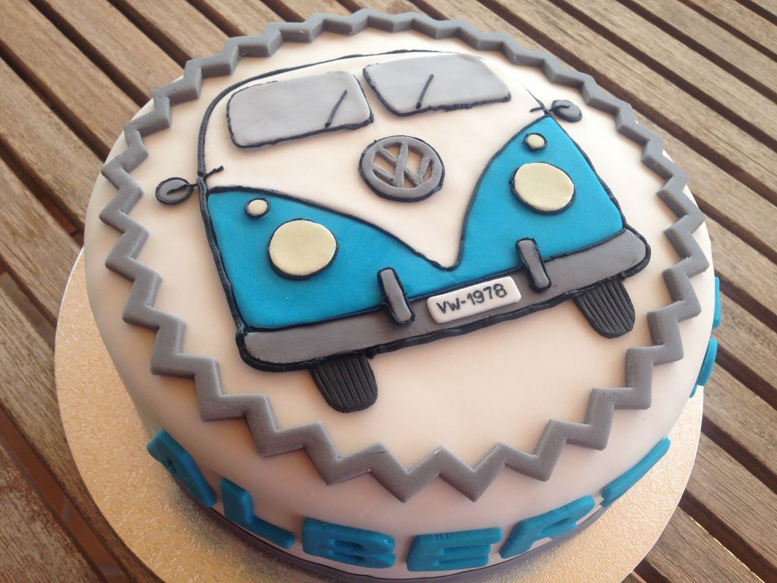 pastis furgo vw vw van cake cakes    cake cupcake cakes camper cakes