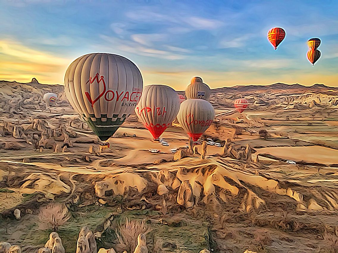 Voyager Balloons Experience Hot Air Balloon in