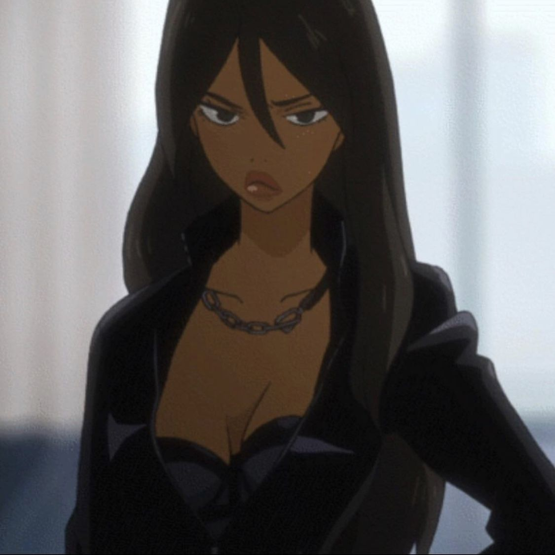 Pin By Jesus Christ On Toons Black Anime Characters Black Girl