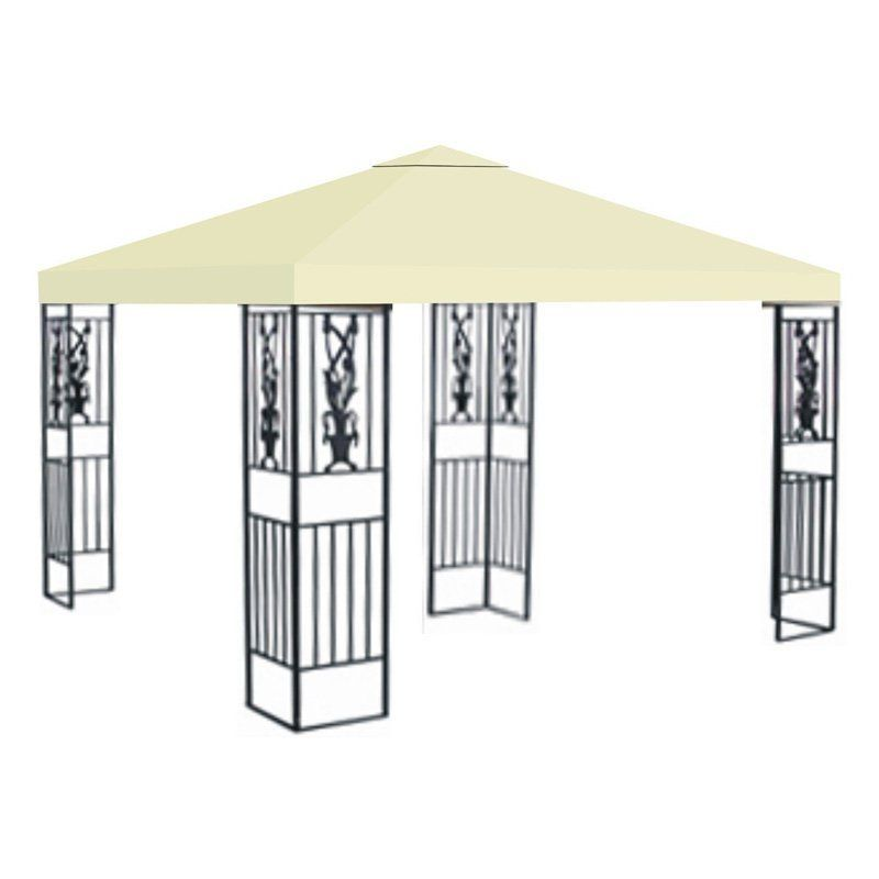 Sunrise 10 x 10 ft. Gazebo Replacement Canopy Cover Ecru - G245-ECRU  sc 1 st  Pinterest & Sunrise 10 x 10 ft. Gazebo Replacement Canopy Cover Ecru - G245 ...