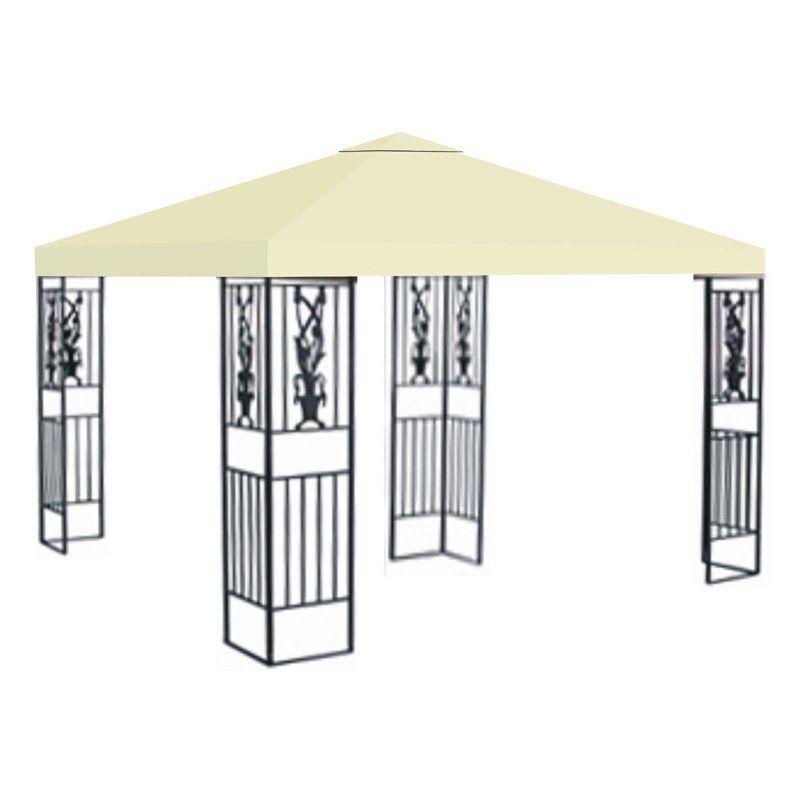 Sunrise 10 X Ft Gazebo Replacement Canopy Cover Ecru G245