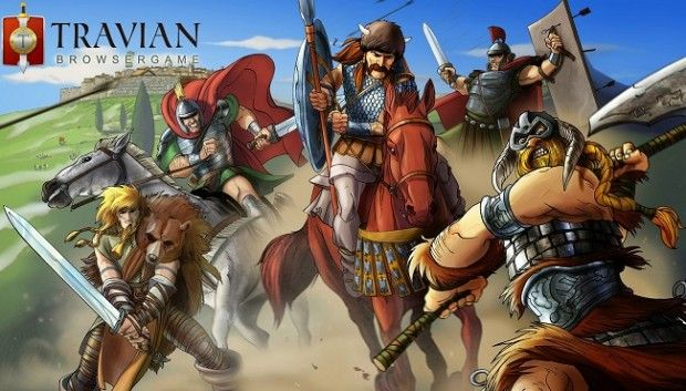 Бесплатная браузерная стратегия Travian Kingdoms