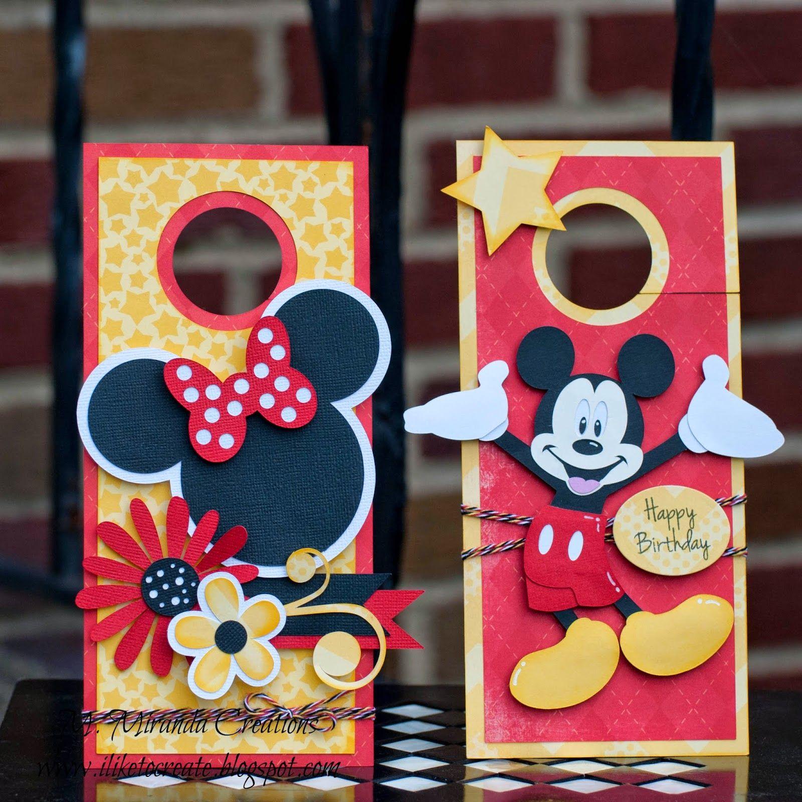 "Guest Designer Trendy Twine ""Celebration"" Disney cards"