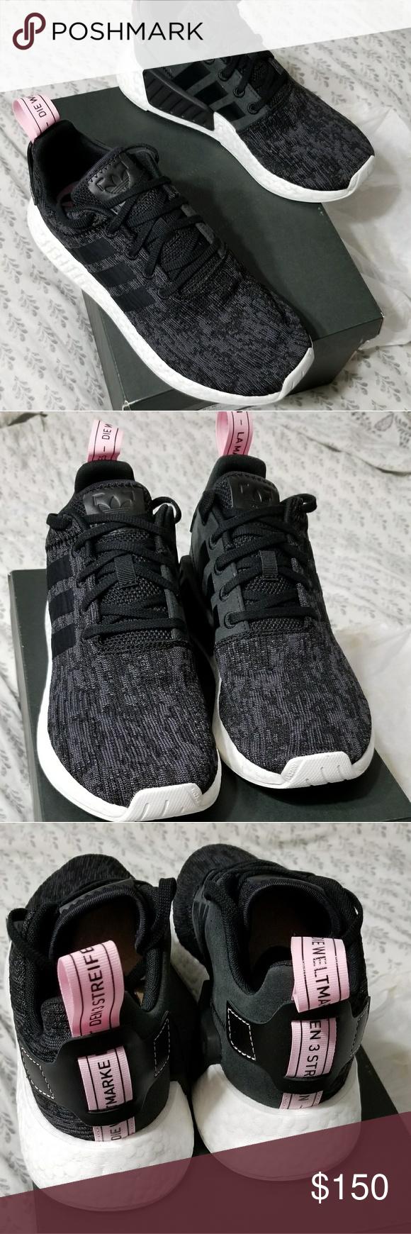 da77ee826 Adidas NMD R2 New in original box Adidas nmd r2 women s size 8. Black mesh