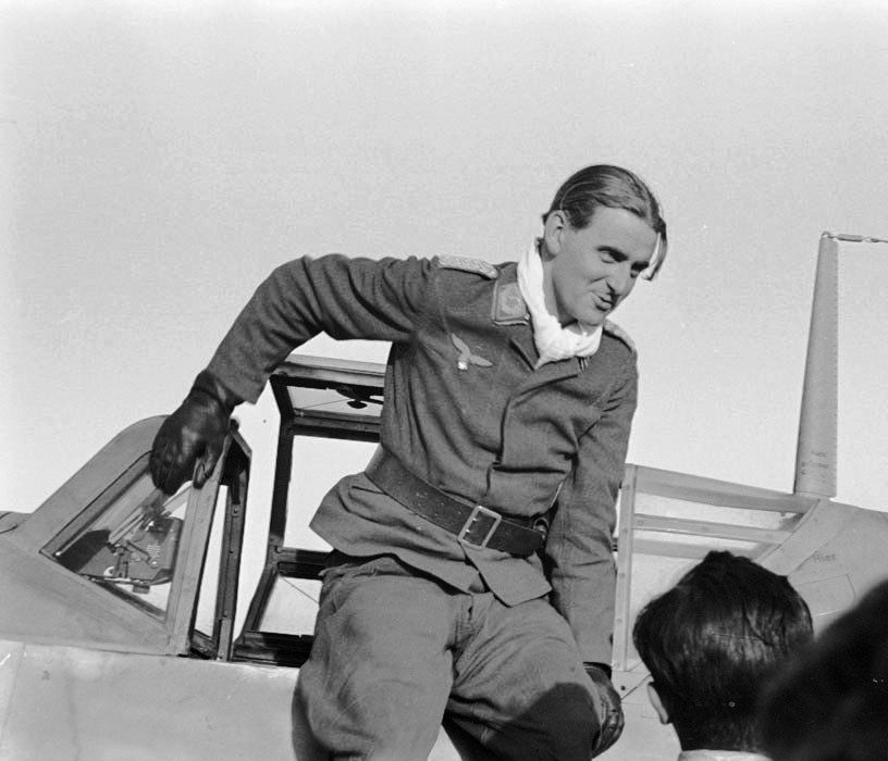 Hubertus von Bonin ,is credited with shooting down 77 enemy aircraft. The majority of his victories were claimed over the Eastern Front. He also claimed four victories in Spain during the civil war. His commands included Geschwaderkommodore of Jagdgeschwader 54