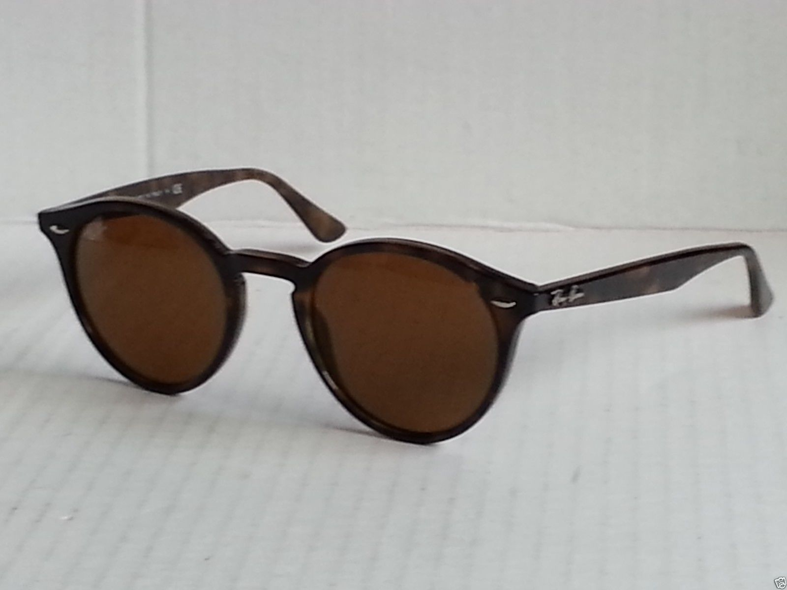 Ray-Ban sunglasses RB 2180 710/73 brown round Made in Italy