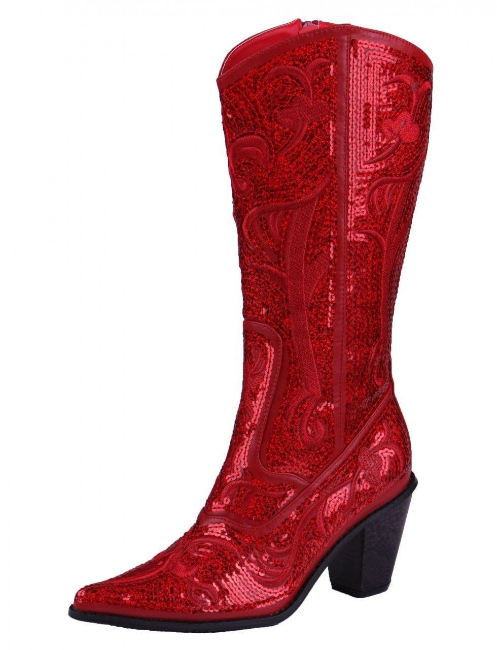 Red Shoes | Cowboy boots women, Cowgirl