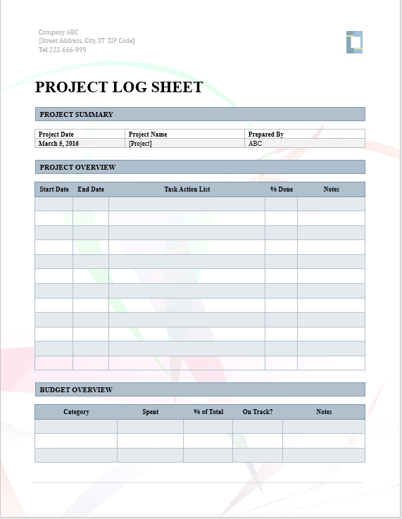 10 activity log templates word excel pdf templates templates