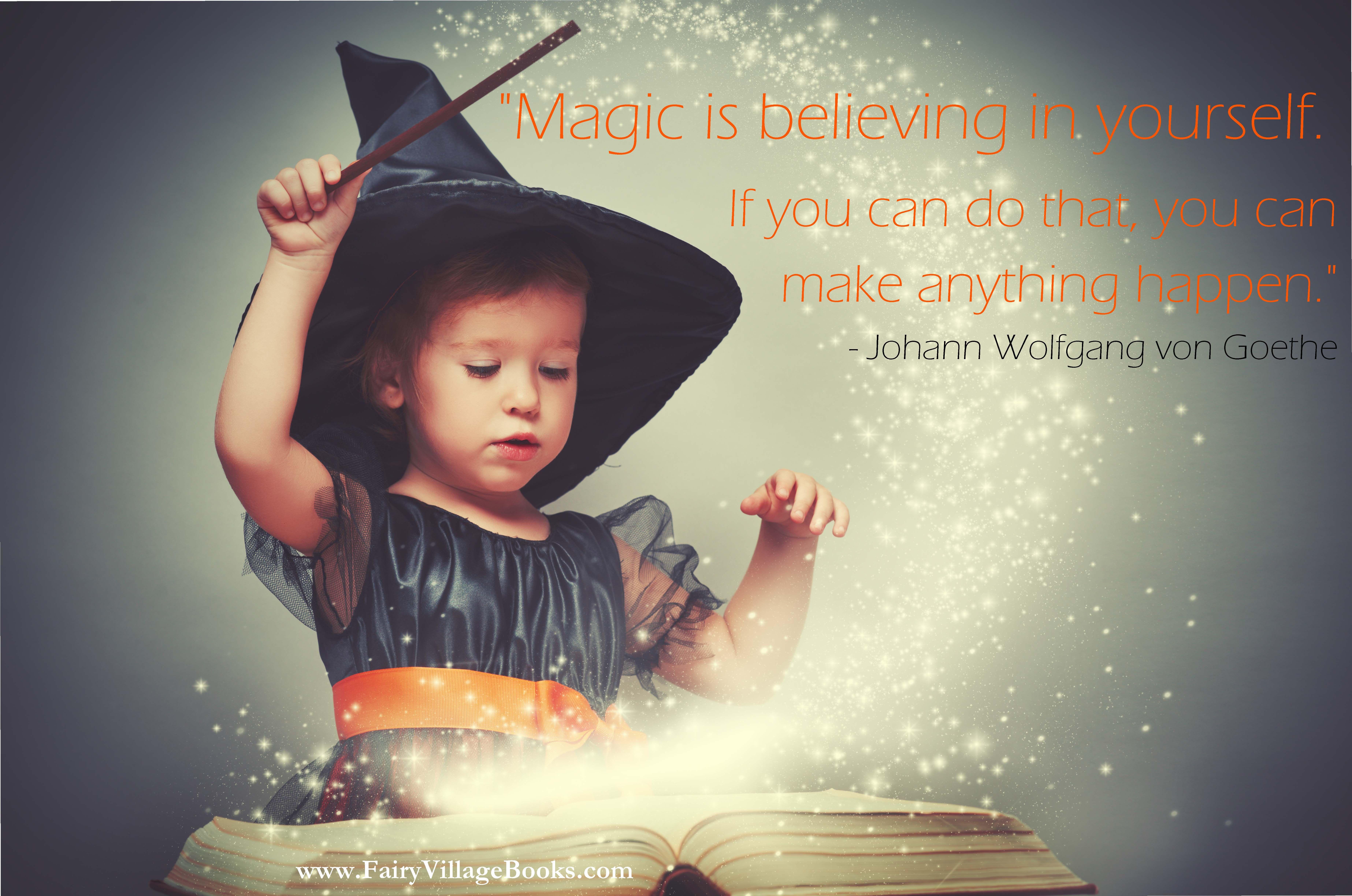 Always believe in yourself  https://magicalbeginningsshop.com/  #magicalbeginnings #fairyvillagebooks #magic