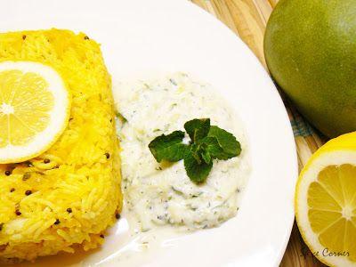 Monsoon Spice | Unveil the Magic of Spices...: Mango Rice with Cucumber-Mint Raita