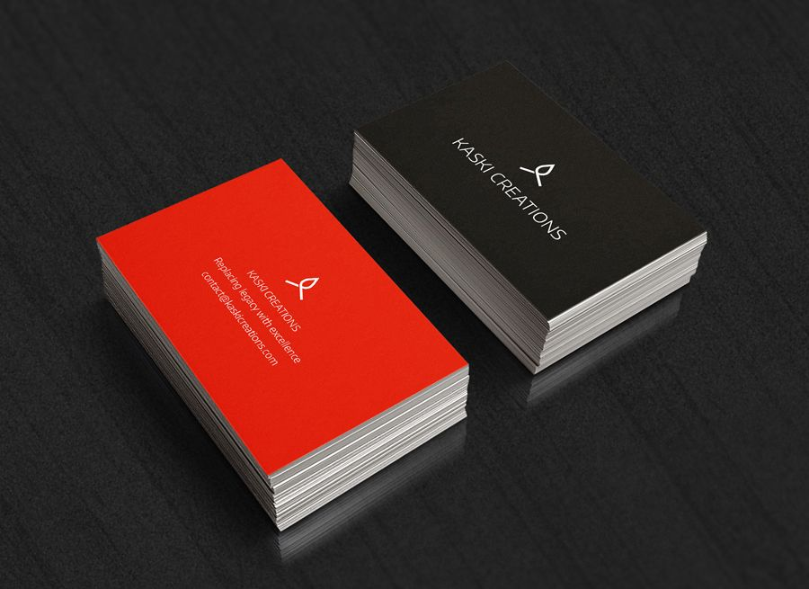 Kaski Business Cards | Kaski Design | Pinterest | Business cards