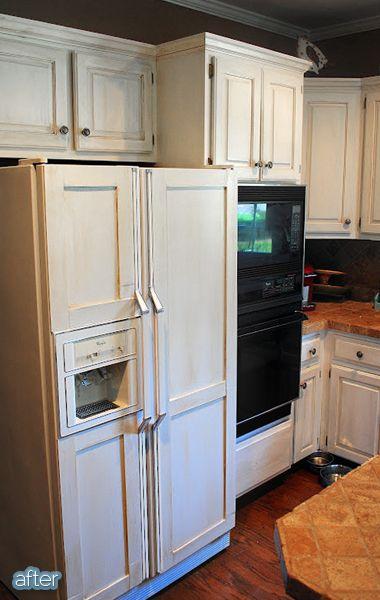 Refrigerator Panels, Kitchen Cabinet Refrigerator Panel
