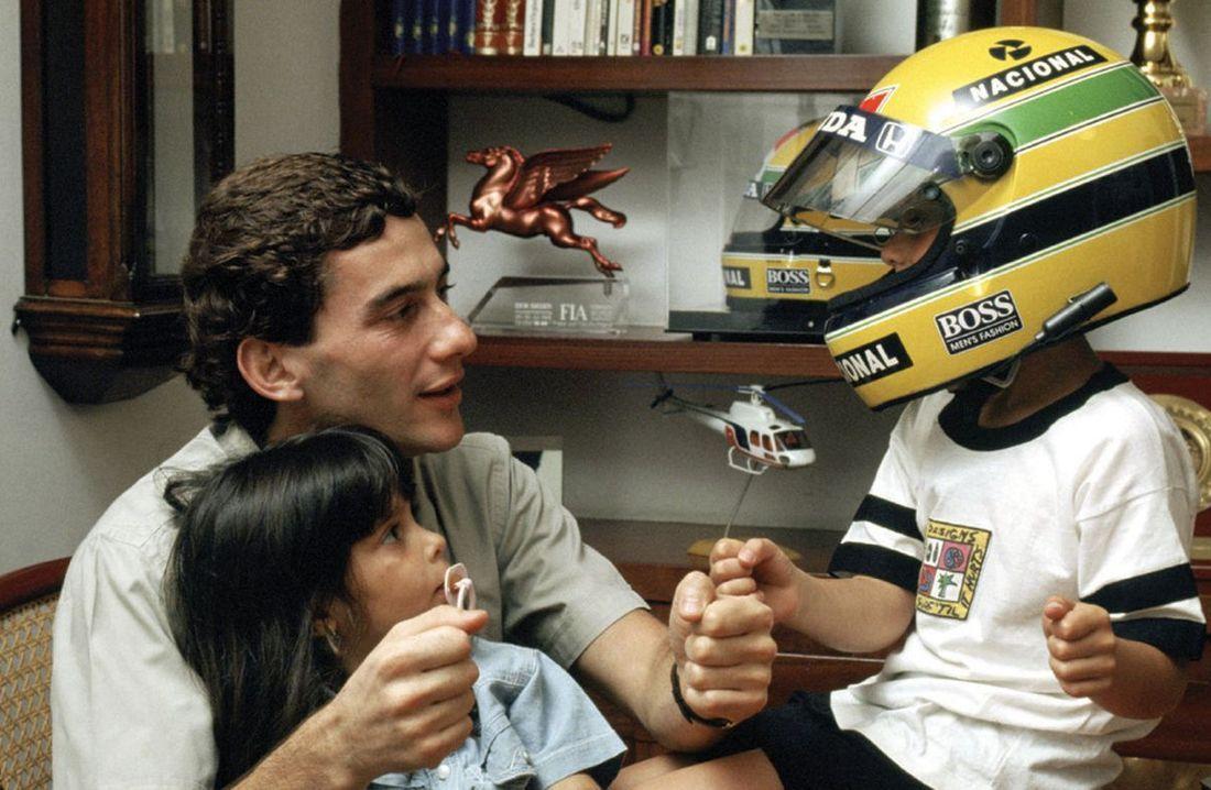 Ayrton With His Nephew And Niece Ayrton Senna Ayrton Aryton Senna