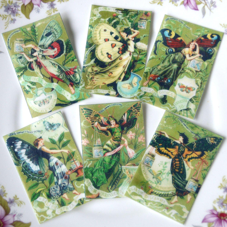 edible butterfly fairies x18 wafer paper art deco fairy