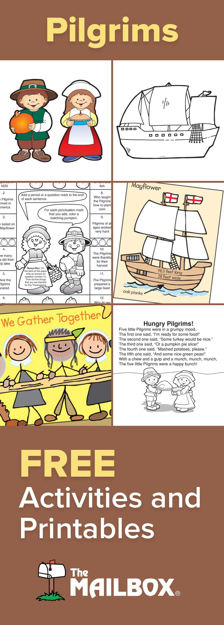 This November Get A Variety Of Worksheets Centers And Activities For Your Pilgrim Study Thanksgiving Preschool Homeschool Thanksgiving Thanksgiving School [ 2052 x 735 Pixel ]