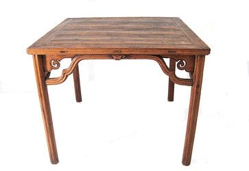 Antique Chinese Square Table 34h Asian Dining Tables Asian