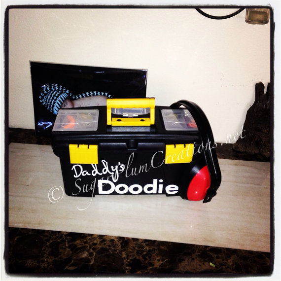 The Original Daddys Doodie Toolboxbaby Shower Gift Just For Dads
