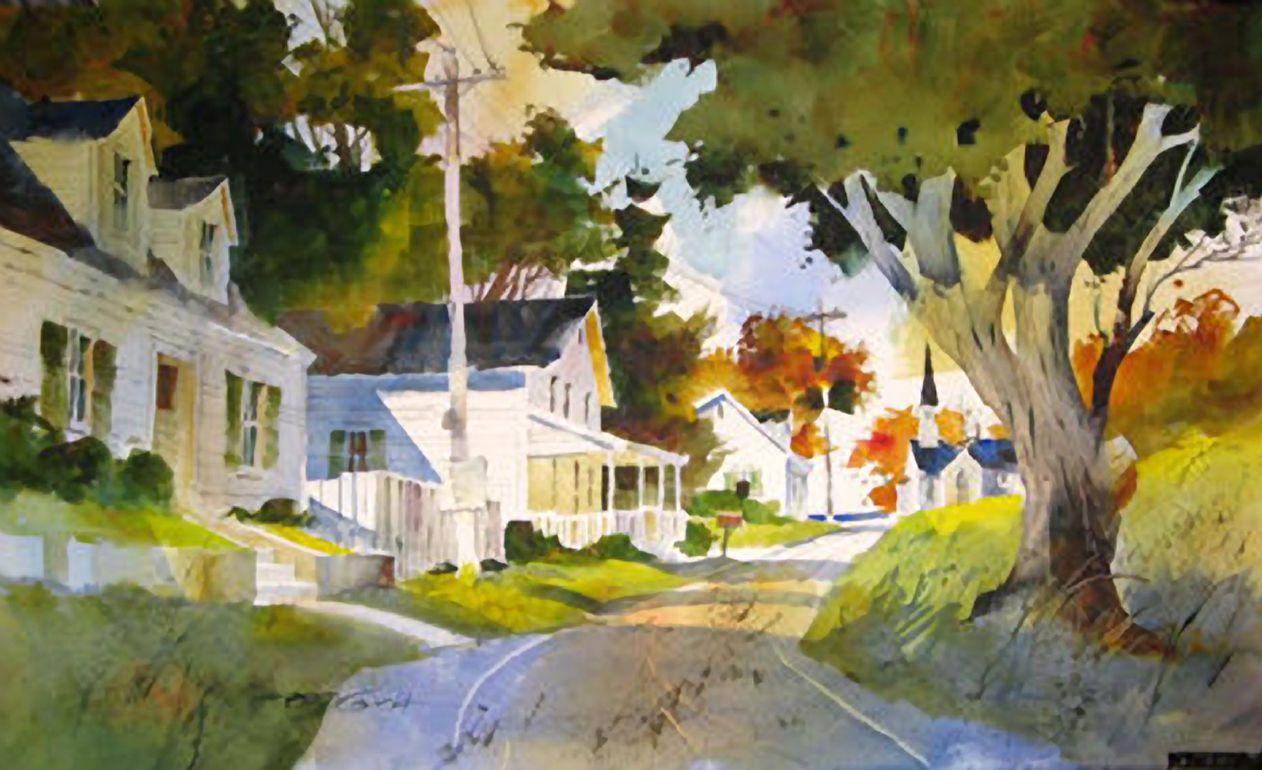 Tony Couch Watercolor Art Landscape Watercolor Art Watercolour