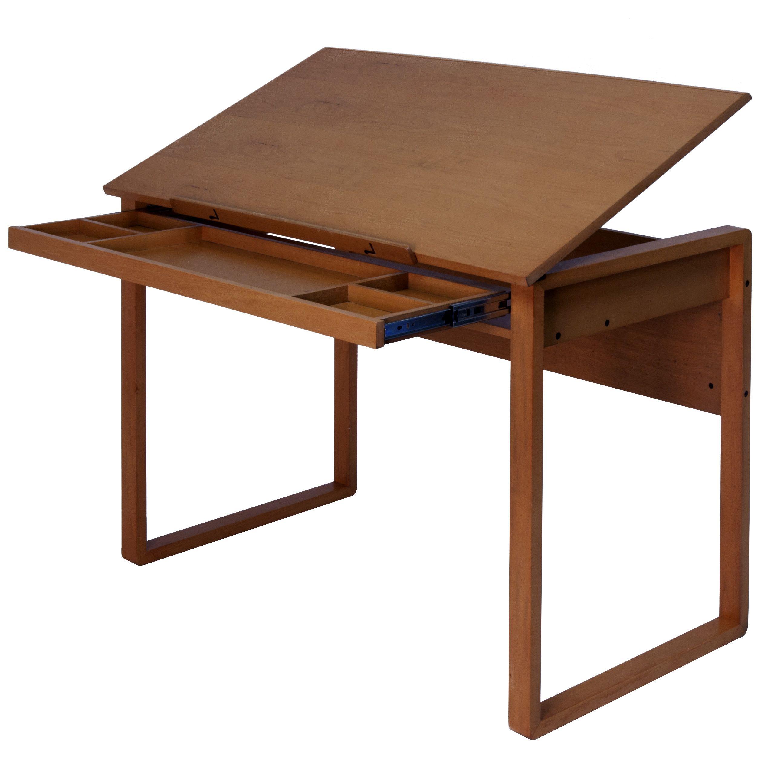Imspiring Design Drafting Table Ideas Brown Wooden Drafting Table