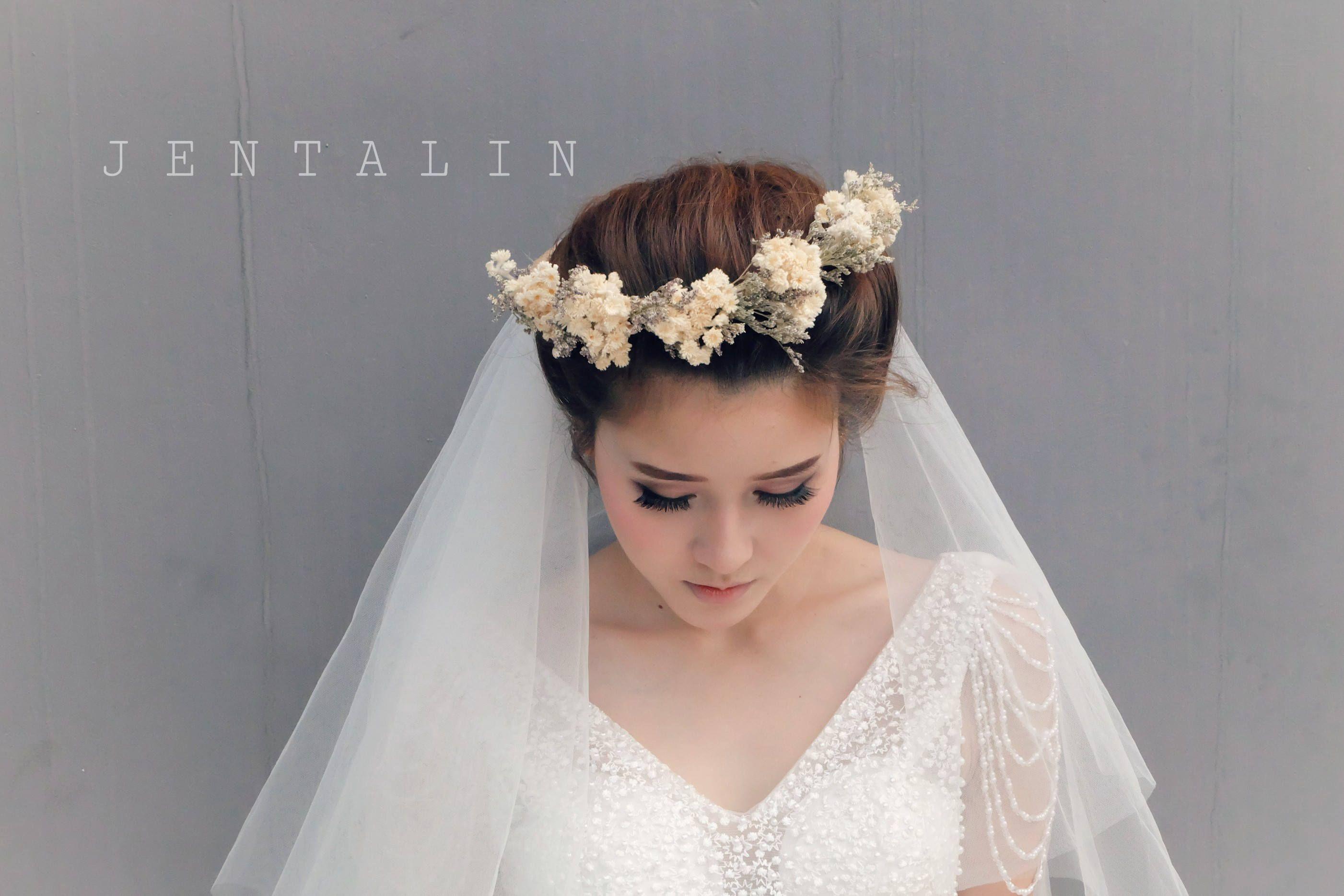 etsy flower crown veil