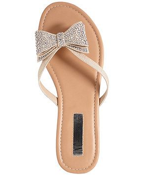 c15e2ba8e INC International Concepts Women s Maey Bow Thong Sandals - INC  International Concepts - Shoes - Macy s