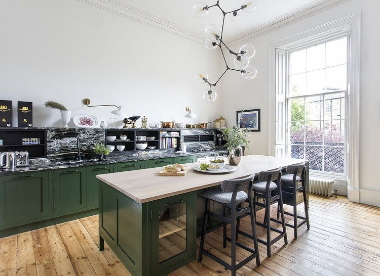 Tour This Colorful Georgian Home In Edinburgh With Images